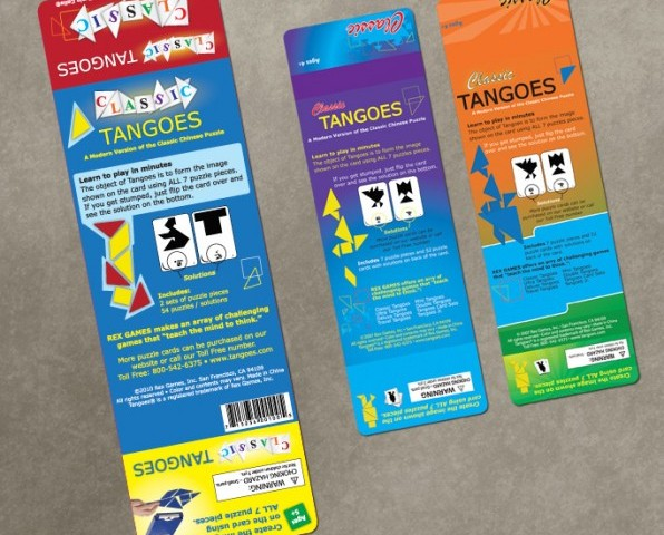 Classic Tangoes – Packaging