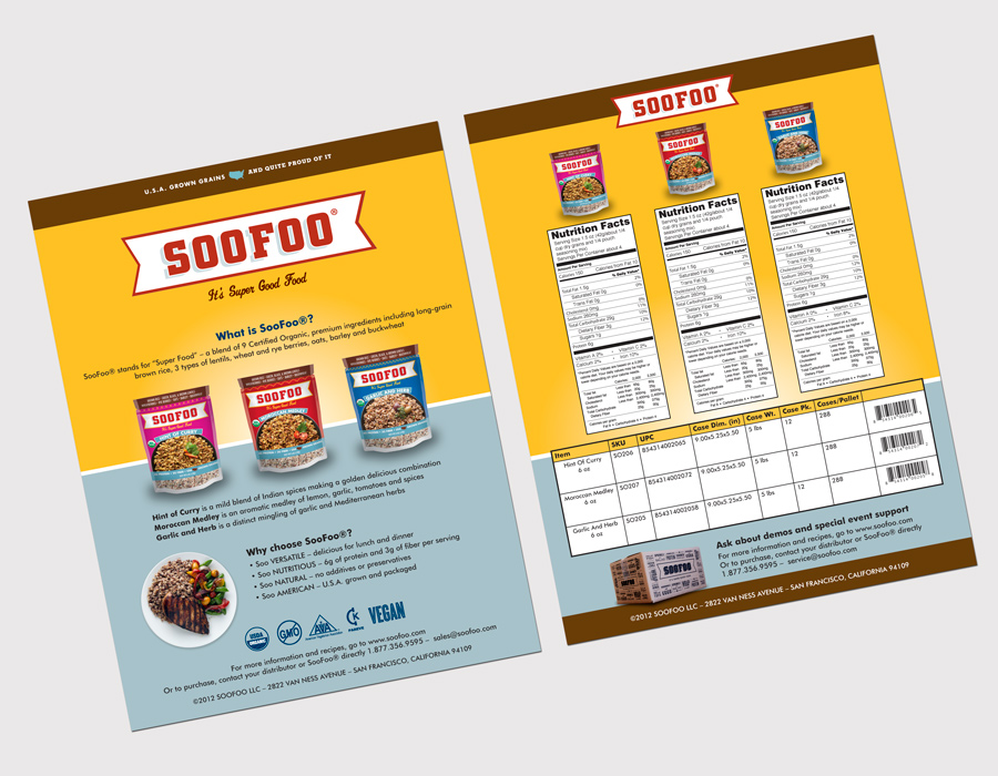 SooFoo Sell Sheet