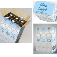 Blue Angel Vodka – Packaging