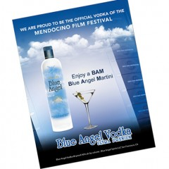 Blue Angel Vodka – Poster