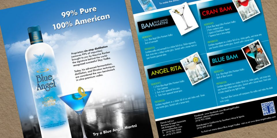 Blue Angel – Sell Sheets